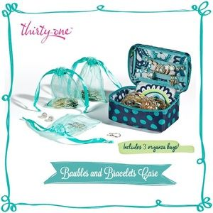 31 Gifts Baubles Bracelets Jewelry Case/Organizer